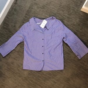 Never worn button down shirt from Zara, with tags